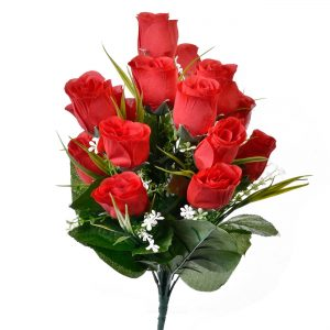 Buchet trandafiri artificiali