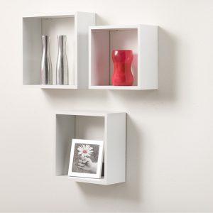 Set cuburi alb