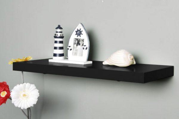 Raft perete negru