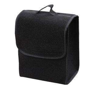 Geanta neagra portbagaj pentru scule, 28x14x30 cm