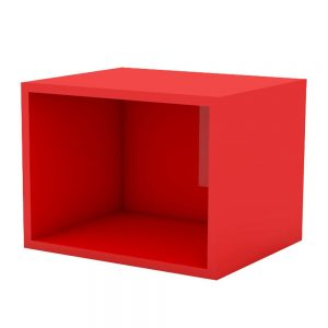 cub perete rosu