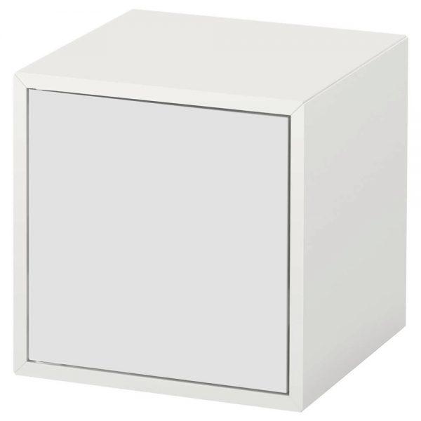 Cub suspendat cu usa, 35x35x35 cm MDF Alb
