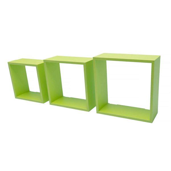Set 3 cuburi Verzi