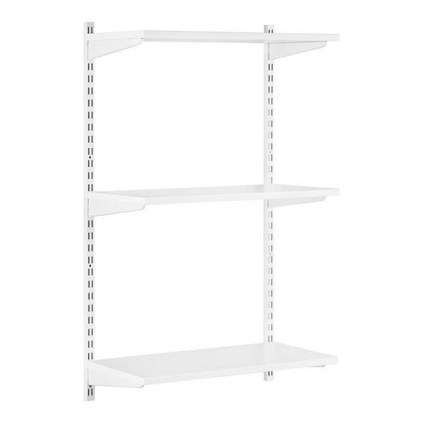 Raft modular Sigma 3P Alb, 80x30x100 cm, Metal/PAL