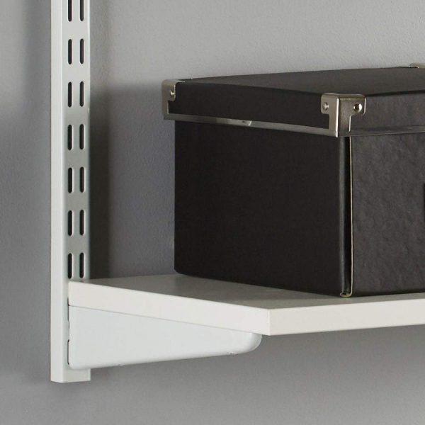 Raft modular Sigma 2P Alb, 60x30x50 cm, Metal/PAL
