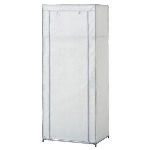 Dulap textil pentru haine, gri deschis, 60x150 cm