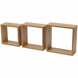 Set 3 cuburi perete Stejar