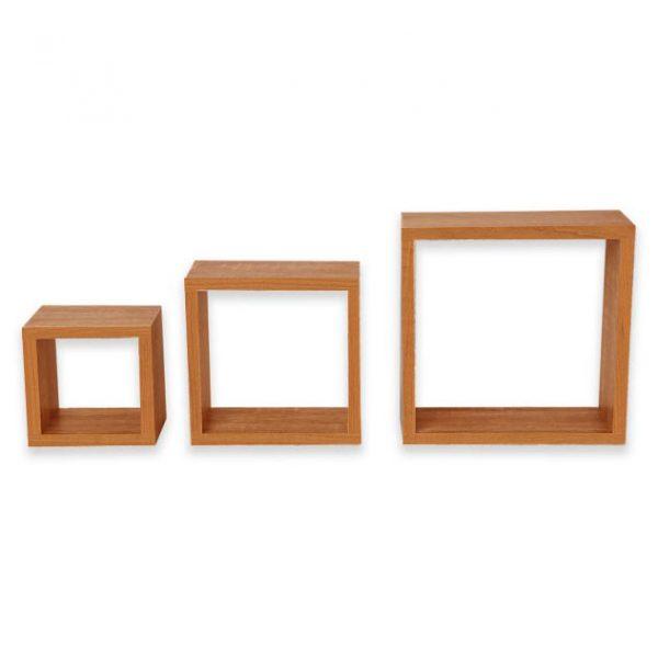 Set 3 cuburi perete PAL Cires