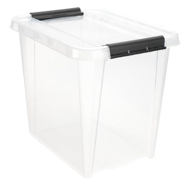 Cutie depozitare cu capac, 52 L, 51x40x43 cm