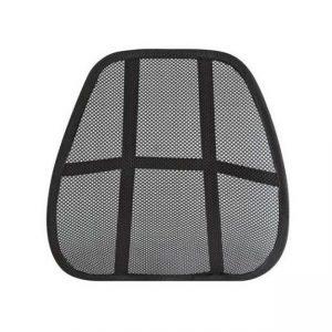 Suport lombar pentru scaun birou/auto Negru