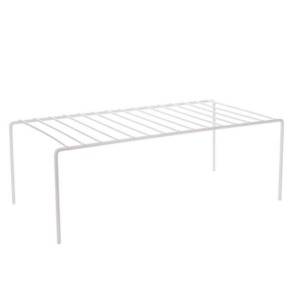 Raft organizator bucatarie Metal Alb, 31.5x26x13 cm