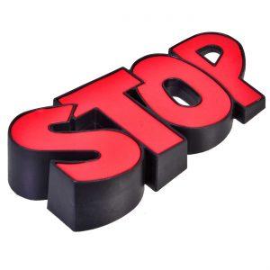 Opritor Usa Stop Rosu, 6x12x3 cm