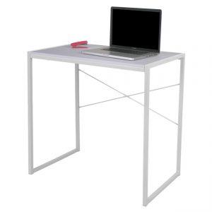 Masa de birou alb, Metal/PAL 78x46x76 cm