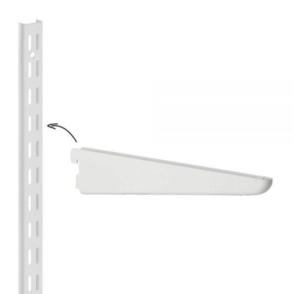 Raft metalic suspendat cu 3 polite, 80x35x100 cm