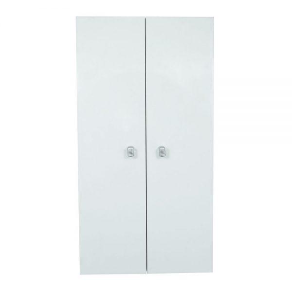 Dulap suspendat pentru baie, 36x20x68 cm, PAL Alb