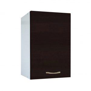 Cabinet suspendat bucatarie, 40x30x50 cm, PAL Alb/Wenge