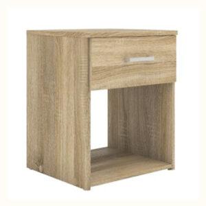 Noptiera cu 1 sertar, 38x36x43 cm Stejar Sonoma