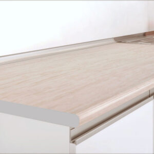 Blat de bucatarie, 80x60x2.8 cm, PAL/HPL Travertin