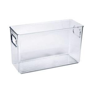 Recipient organizare frigider, 24x8x15 Plastic Transparent