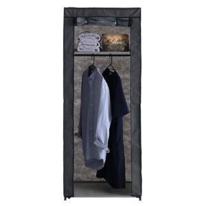 Dulap textil pentru haine 60x150cm Negru