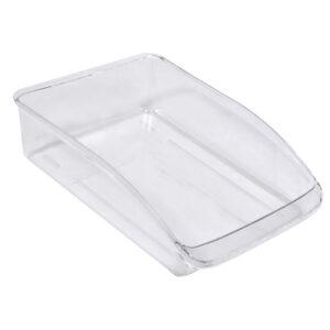 Organizator Frigider Alimente, 31x22.5x7 cm Plastic Transparent