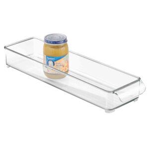 Organizator Frigider Alimente, 30x10x5 cm Plastic Transparent
