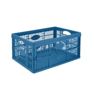Naveta Pliabila 48x35x23 cm, 32L Plastic Albastru